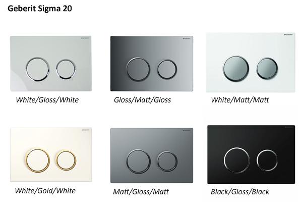Geberit Sigma 20 Colours Ideal Merchandise