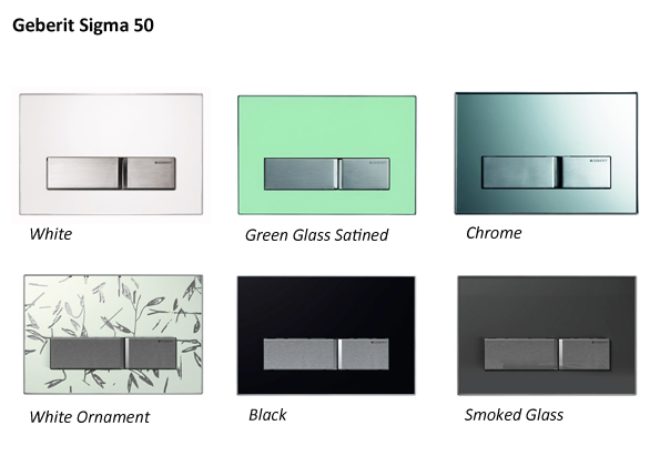 Geberit Sigma 50 Colours Ideal Merchandise