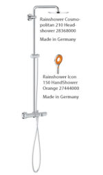 Grohe Euphoria Shower System Thermostatic Bath 26243000