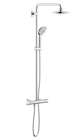 Grohe Euphoria 260 Thermostatic Shower System 27296002