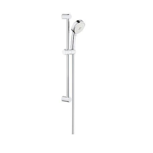 Grohe New Tempesta cosmo 100 III shower rail set 600mm 3 spray patterns 27579002