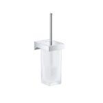 Grohe Selection Cube 40857000 Toilet Brush Set