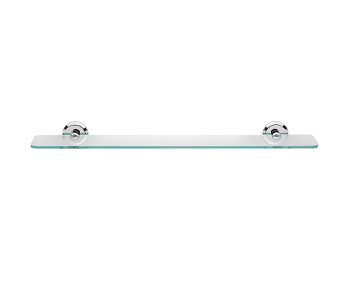 Justime glass shelf 6864-70-80CP