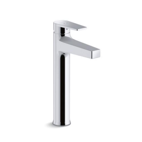 Kohler Taut Tall Lavatory Faucet K-74026T-4E2-CP