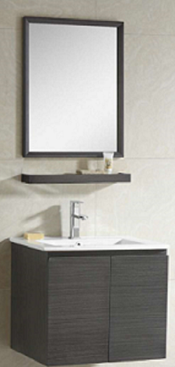 Zaffiro basin with cabinet 8260A-60
