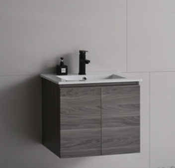 Baron basin with cabinet A103 french plane color