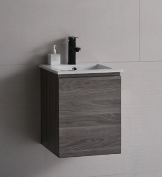Baron basin with cabinet A106 french plane color