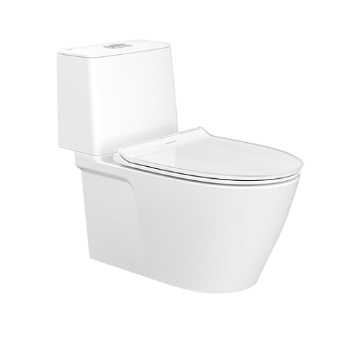 American Standard Acacia Supasleek-Close Coupled Toilet-CL23075-6DASGCBT