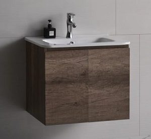 Baron basin with cabinet B84 Ancient ship wood color
