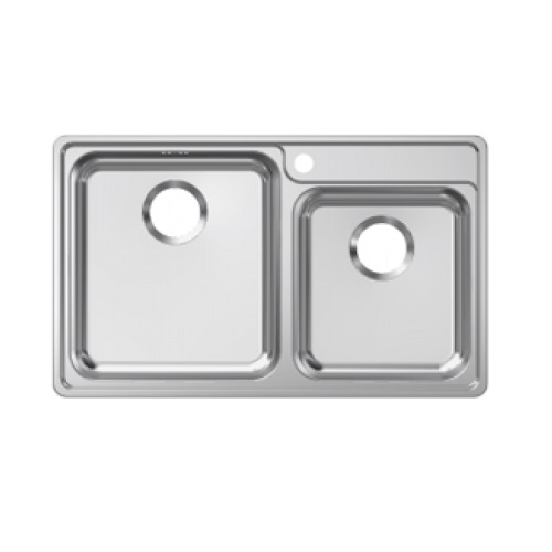 Franke Bell Drop-in double bowl sink BCX 620-38/32