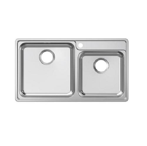 Franke Bell Drop-in double bowl sink BCX 620-42/35