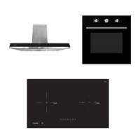 Mayer Kitchen Bundle Set MM75IDHB+MMCH907S+MMDO8