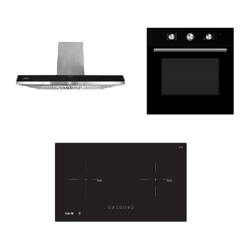 Mayer kitchen Bundle Set MM75IH+MMCH907S+MMDO8