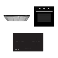 Mayer kitchen Bundle Set MM75IH+MMSI900HS+MMDO8