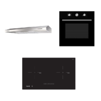 Mayer kitchen Bundle Set MM75IH+MMSL901SM+MMDO8