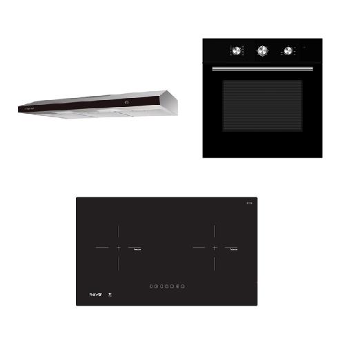 Mayer kitchen Bundle Set MM75IH+MMSL902BE+MMDO8