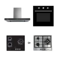 Mayer Kitchen Bundle Set MMBCH900+MMDO8+MMGH633/SS633