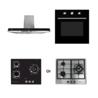 Mayer Kitchen Bundle Set MMCH907S+MMDO8+MMGH633/SS633