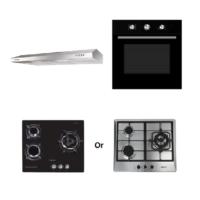 Mayer Kitchen Bundle Set MMSL901SM+MMDO8+MMGH633/SS633