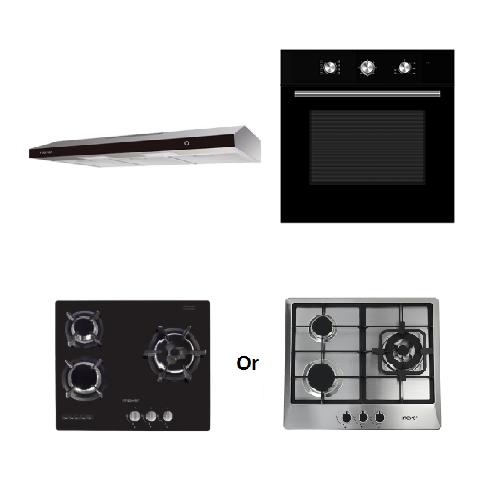 Mayer Kitchen Bundle Set MMSL902BE+MMDO8+MMGH633/SS633