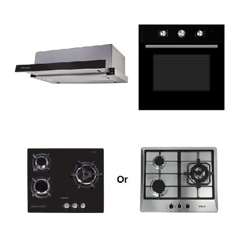 Mayer Kitchen Bundle Set MMTH60+MMDO8+MMGH633/SS633