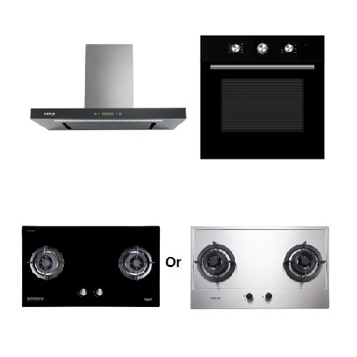 Mayer Kitchen Bundle Set MMGH882/SS882+MMDO8+MMBCH900