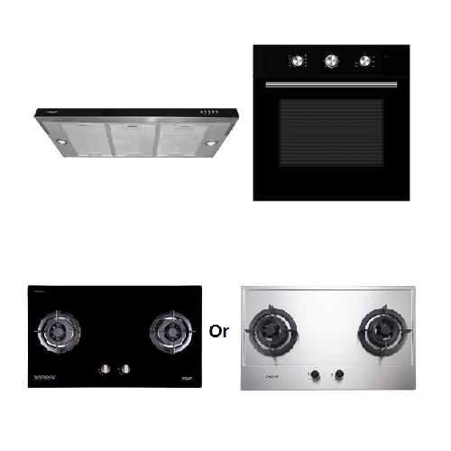 Mayer Kitchen Bundle Set MMGH882/SS882+MMDO8+MMSI900HS