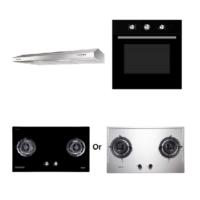 Mayer Kitchen Bundle Set MMGH882/SS882+MMDO8+MMSL901SM
