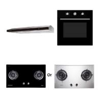 Mayer Kitchen Bundle Set MMGH882/SS882+MMDO8+MMSL902BE