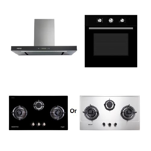 Mayer Kitchen Bundle Set MMBCH900+MMDO8+MMGH883/SS883