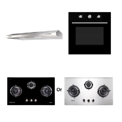 Mayer Kitchen Bundle Set MMSL901SM+MMDO8+MMGH883/SS883