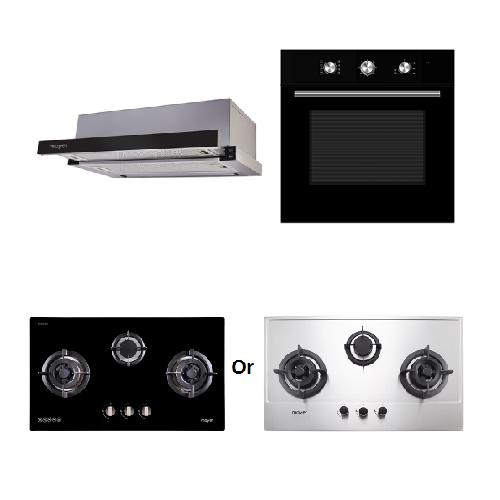 Mayer Kitchen Bundle Set MMTH90+MMDO8+MMGH883/SS883