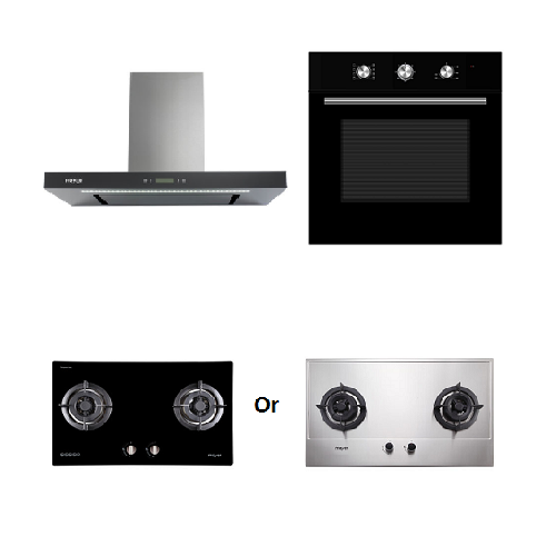 Mayer kitchen Bundle Set4 MMGH772/SS772+MMBCH900+MMDO8