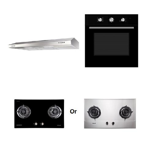 Mayer kitchen Bundle Set5 MMGH772/SS772+MMSL901SM+MMDO8