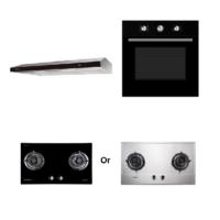 Mayer kitchen Bundle Set6 MMGH772/SS772+MMSL902BE+MMDO8