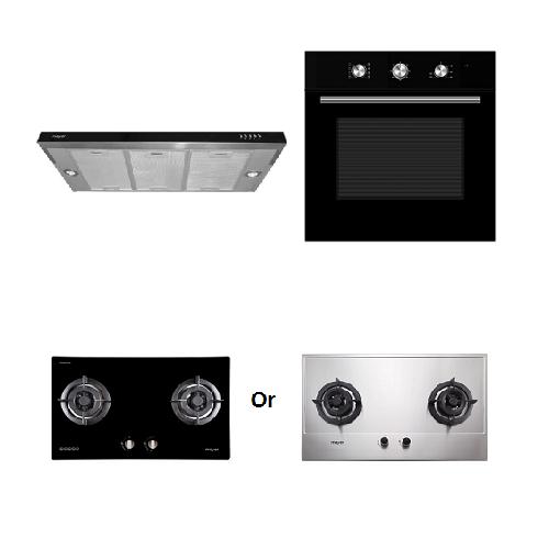 Mayer kitchen Bundle Set7 MMGH772/SS772+MMSI900HS+MMDO8