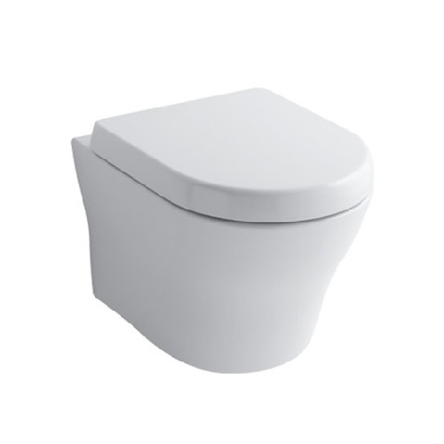 TOTO CW162B for Wall Hung Installation with Rimless Design, Tornado Flushing and CeFiONtect