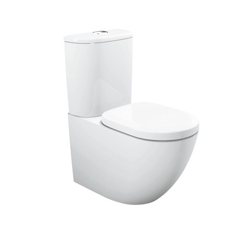 TOTO Close-coupled WC CW761PB with Rimless Design, Tornado Flushing and CeFiONtect