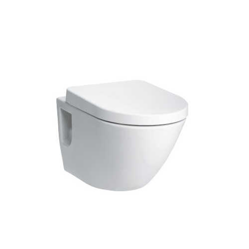 TOTO CW762B for Wall Hung Installation with Rimless bowl design, Tornado Flushing and CeFiONtect