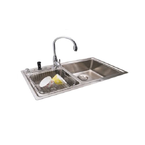 EC32201 Double bowl kitchen sink