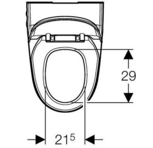 Geberit Aquaclean 8000plus Specification drawing 3