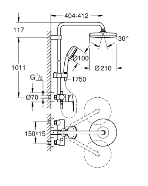 Grohe 26224001 Specification