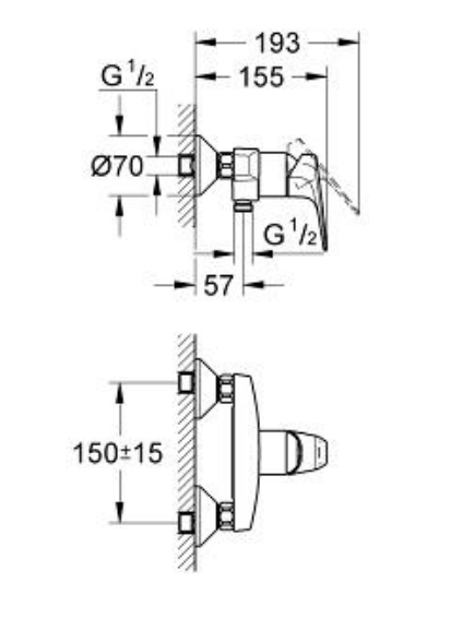 Grohe 32812000 Specification