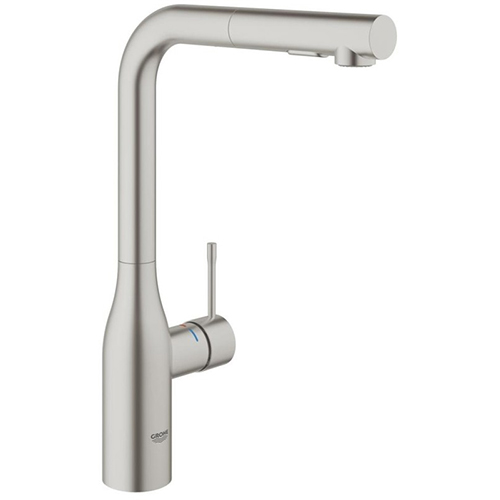 Grohe Essence SuperSteel 30270DC0. SuperSteel has a stylish matte finish, is 3 times as hard as chrome , and 10 times as durable