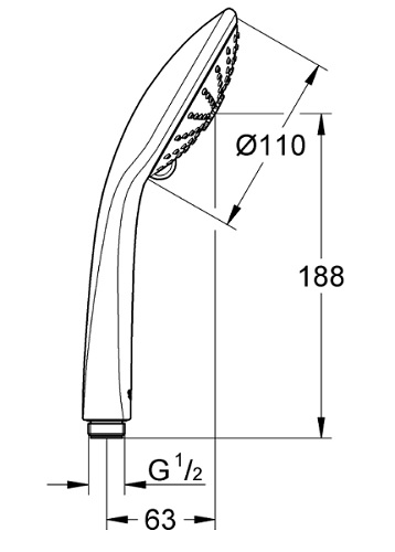 Grohe-27221000 Specification
