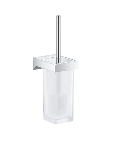 Grohe-Selection Cube Toilet Brush Set-40857000