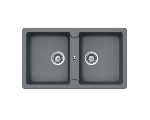 Hafele Granite kitchen sink Antonious HS-GD8650 Grey