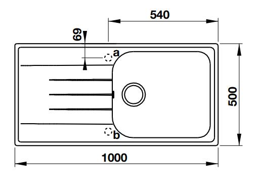 Hafele Julius-HS-GSD10050 Specification 1