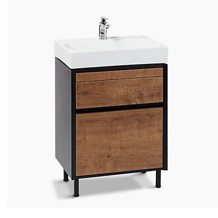 Kohler Maxispace 600 mm Vanity Top Lavatory with bathroom furniture K-96120T-1-0