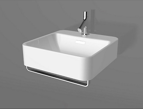 Kohler Forefront wall Hung Lavatory with towel Bar K-24984K-1-0